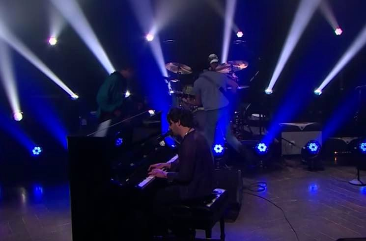 "​Conor Oberst Brings ""Too Late to Fixate"" to 'The Late Late Show'"