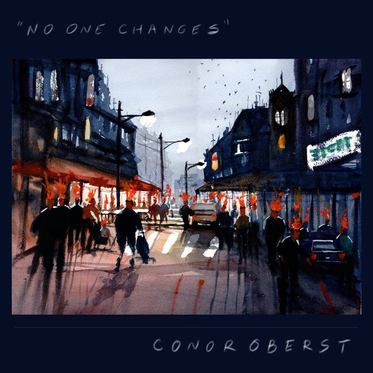 "​Conor Oberst Shares New Songs ""No One Changes"" and ""The Rockaways"""