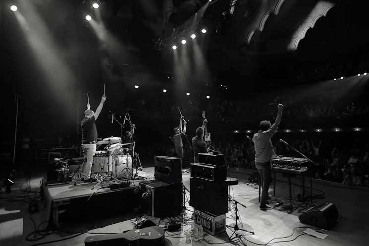 "Constantines & Chad VanGaalen ""Live at Massey Hall"" (live videos)"