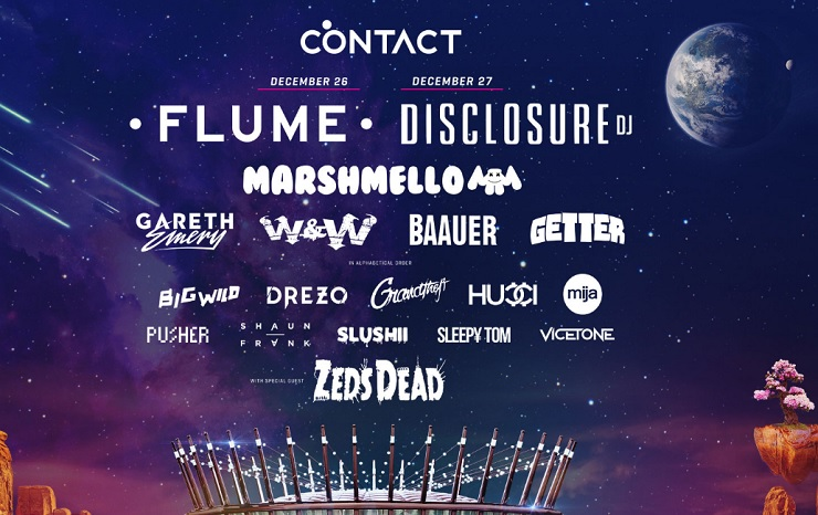 Vancouver's Contact Winter Music Festival Brings Out Disclosure, Flume, Zeds Dead