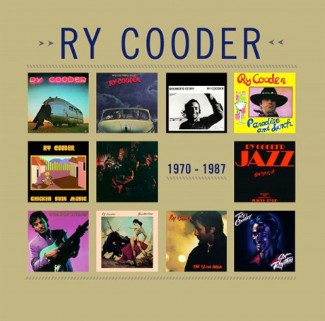 Ry Cooder's Warner Years Collected on 11-CD Box Set