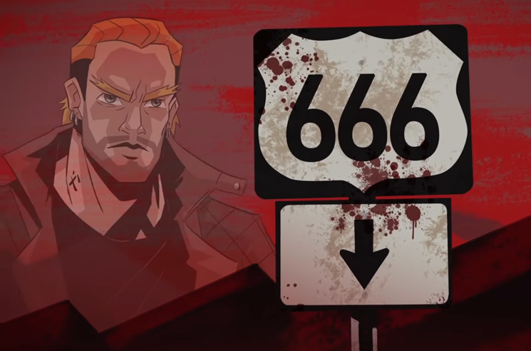 Slipknot's Corey Taylor Rides 'HWY 666' on New Single