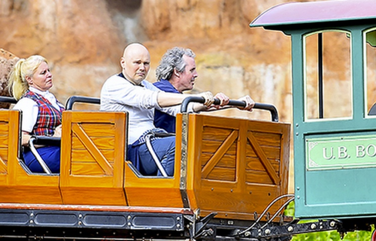 Billy Corgan Discusses Meme-Worthy Disneyland Trip: 'What the Fuck Do You Want from Me?'