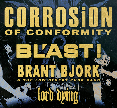 Corrosion of Conformity Take 'IX' on North American Tour with BL'AST!