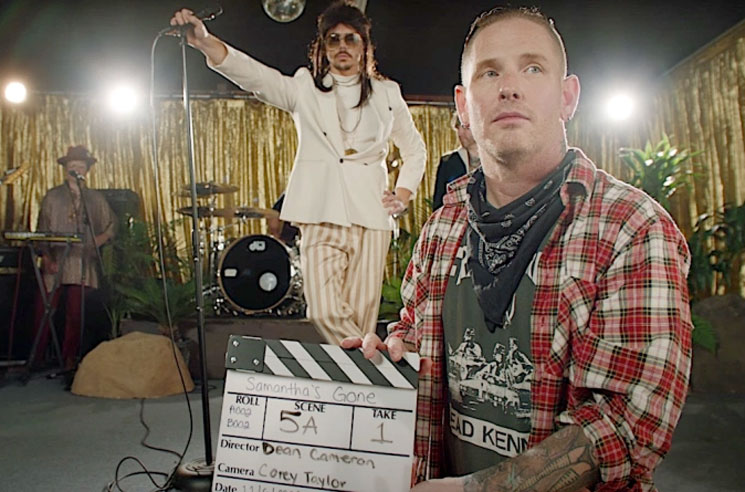 Slipknot's Corey Taylor Pokes Fun at 'Indie Rock' in His New 'Samantha's Gone' Video