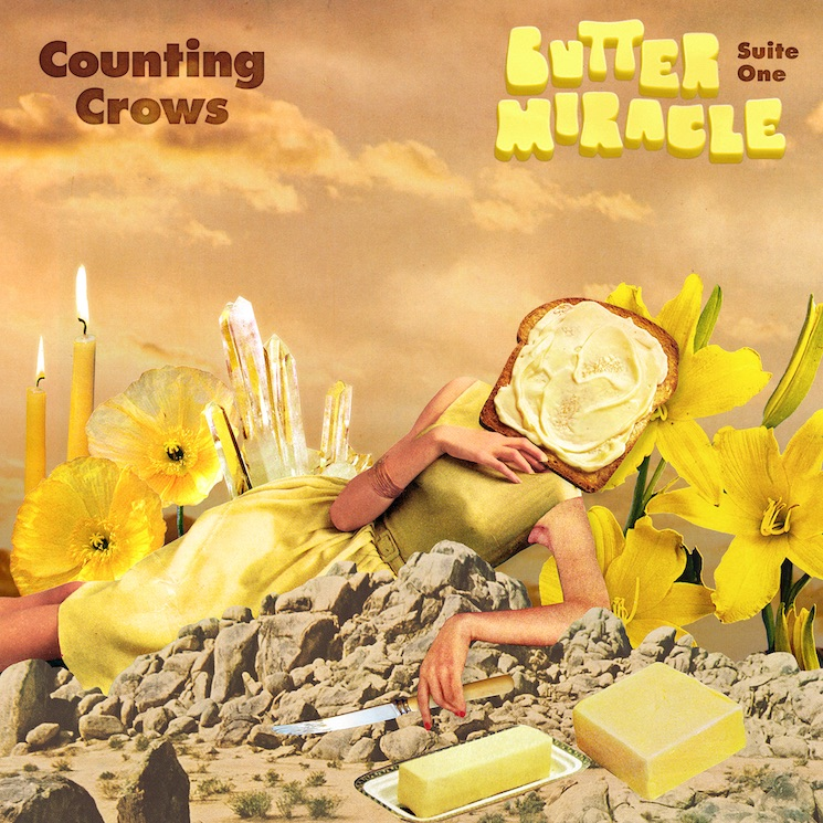 Counting Crows Release Their First New Music Since Adam Duritz Shaved Off His Dreadlocks
