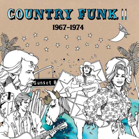Various Artists Country Funk II: 1967-1974