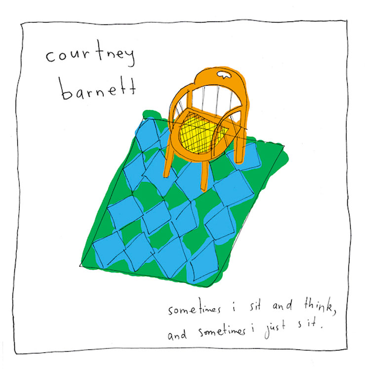 Courtney Barnett 'Sometimes I Sit and Think, and Sometimes I Just Sit' (album stream)