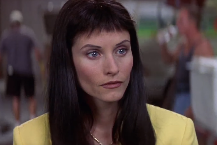 David Arquette Is to Blame for Courteney Cox's Awful 'Scream 3' Bangs