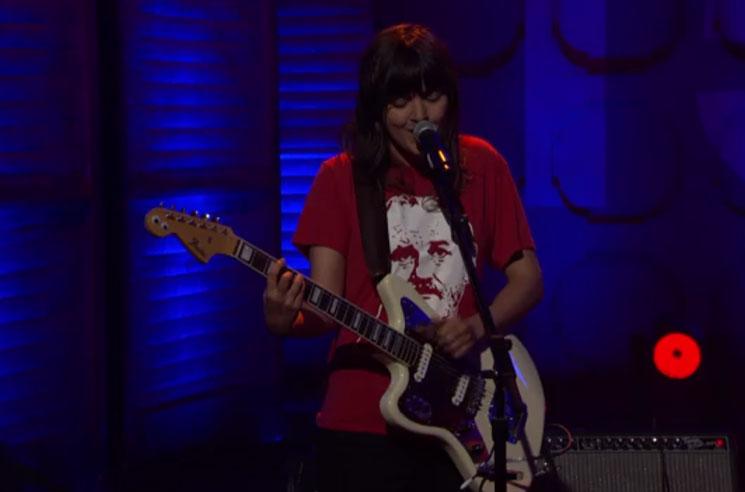 "Courtney Barnett ""Dead Fox"" (live on 'Conan')"