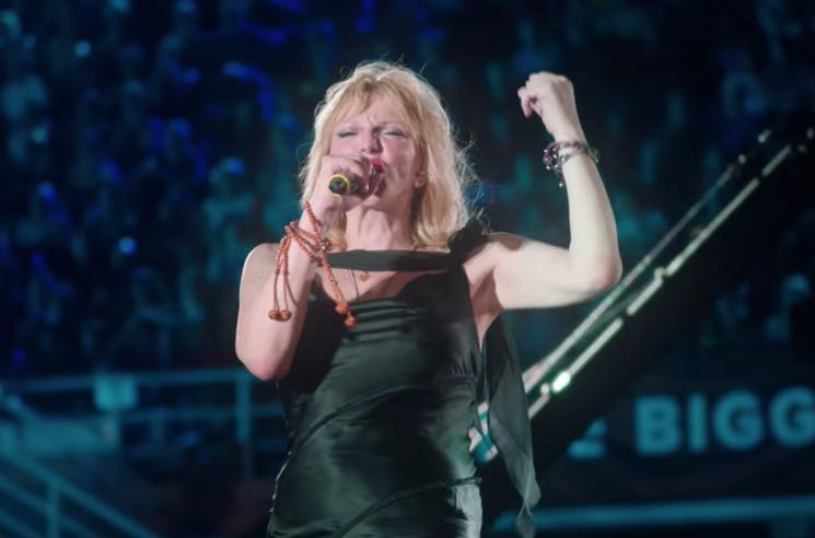 "​Watch Courtney Love Perform ""Celebrity Skin"" with a 1,500-Person Backing Band"