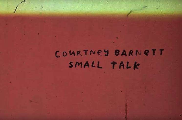 "​Courtney Barnett Shares New Song ""Small Talk"""