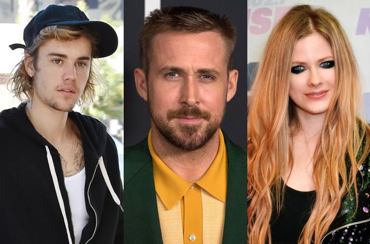 Justin Bieber, Ryan Gosling and Avril Lavigne Are Distant Cousins