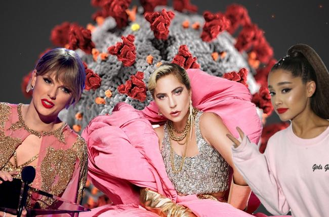 Ariana Grande, Taylor Swift, Lady Gaga Warn Fans of Dangers of Coronavirus