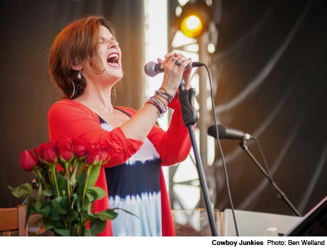 Cowboy Junkies LeBreton Flats, Ottawa ON July 12
