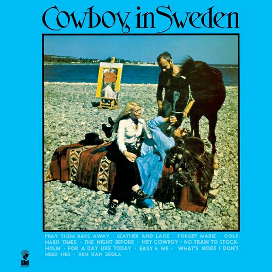 Lee Hazlewood's 'Cowboy in Sweden' Treated to Expanded and Remastered Reissue