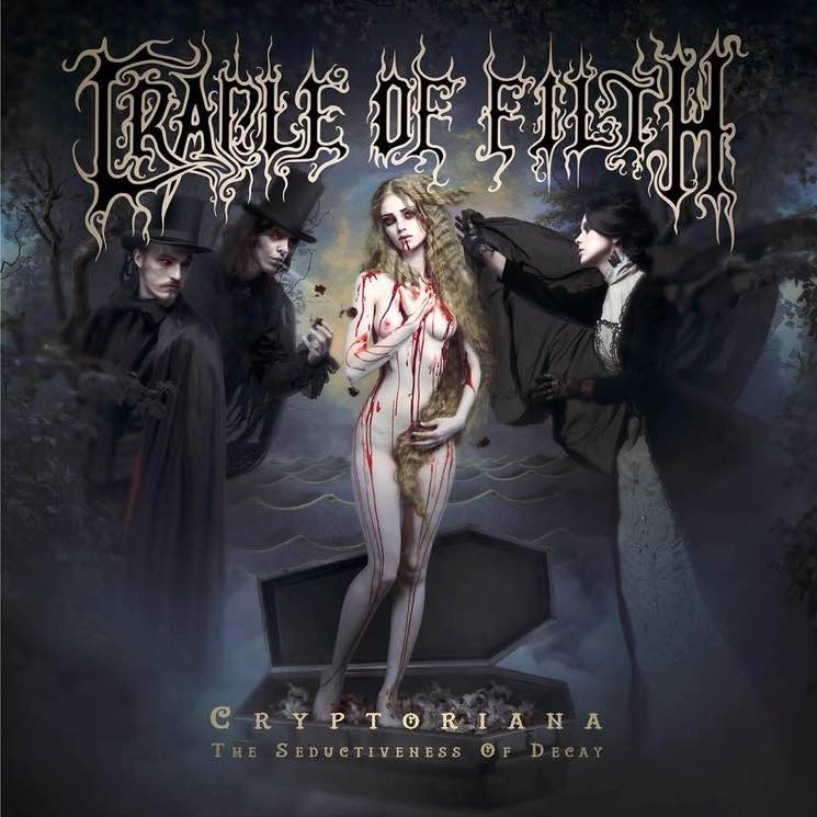 Cradle of Filth Cryptoriana – The Seductiveness of Decay