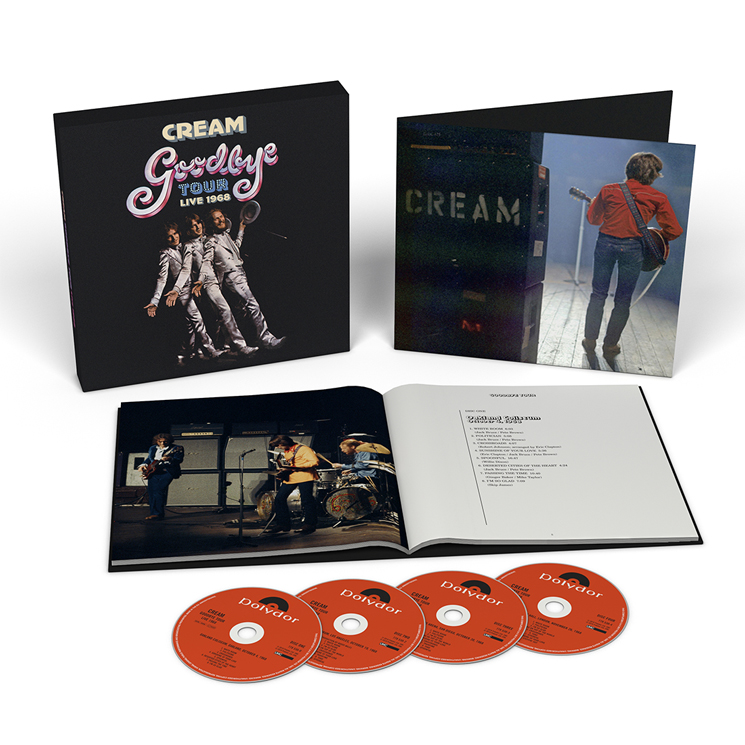 Cream Collect Final Performances for 'Goodbye Tour' Box Set
