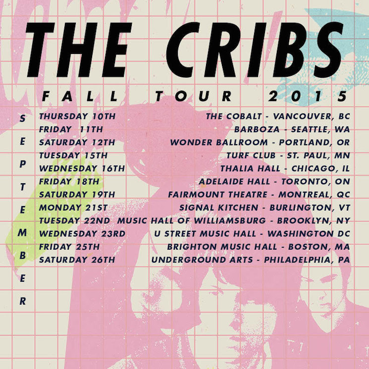 The Cribs Announce North American Tour
