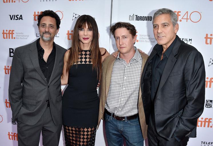 Sandra Bullock, George Clooney, Zoe Kazan Discuss 'Our Brand Is Crisis'