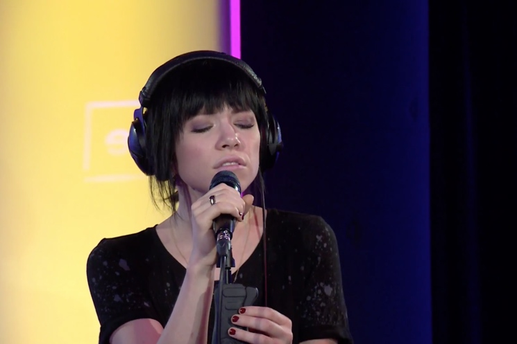 """Carly Rae Jepsen """"King"""" (Years & Years cover) (live in-studio)"""