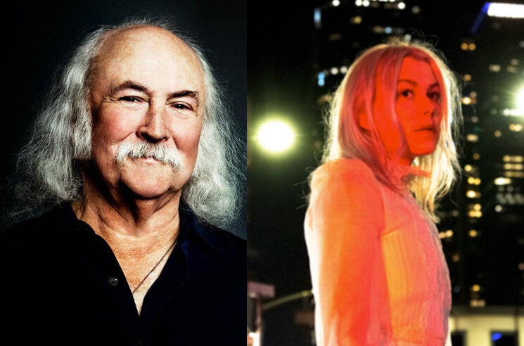 Phoebe Bridgers Calls David Crosby a 'Little Bitch' over Guitar-Smashing Controversy