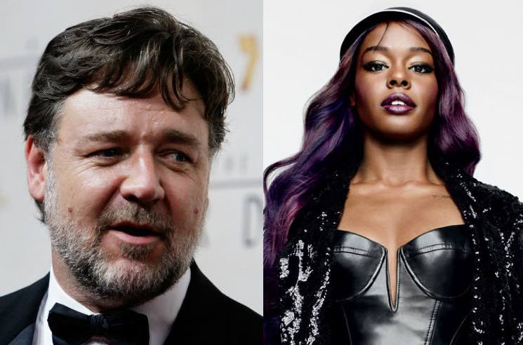 Azealia Banks Kicked Out of Russell Crowe's Hotel Party