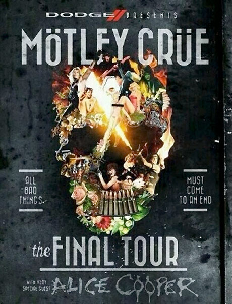 Mötley Crüe Book Canadian Shows on Farewell Tour