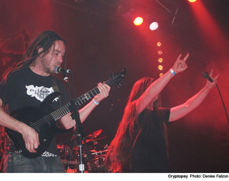 Cryptopsy Opera House, Toronto ON March 9