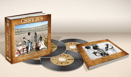 Crosby, Stills, Nash & Young Document 1974 Tour with Box Set