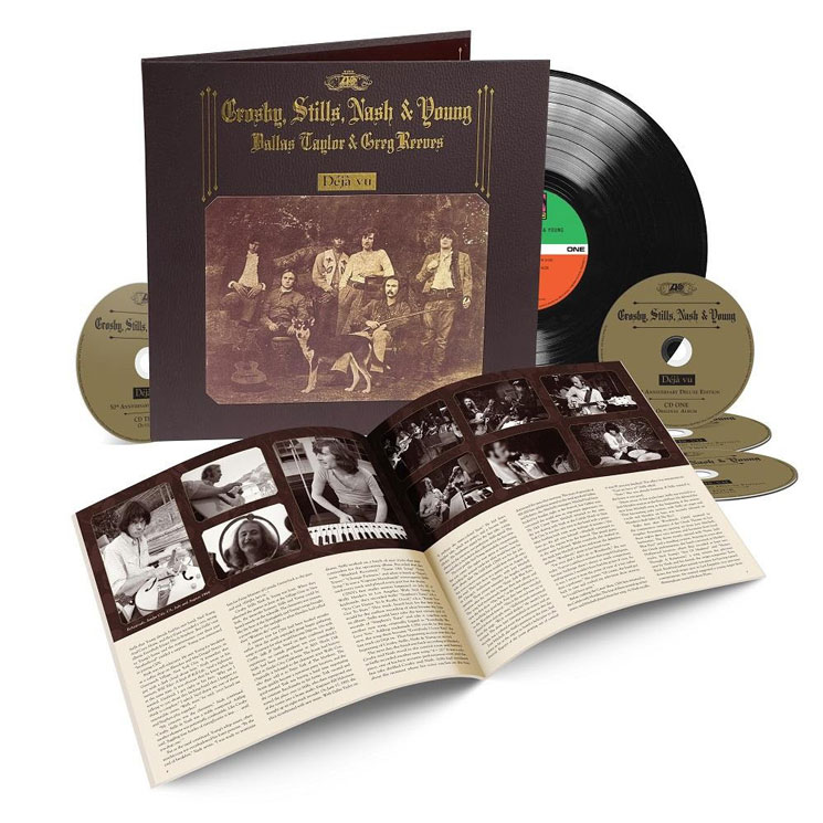 Crosby, Stills, Nash & Young Treat 'Déjà Vu' to 50th Anniversary Reissue