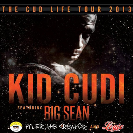"Kid Cudi Teams Up with Big Sean and Tyler, the Creator for ""The Cud Life Tour"""