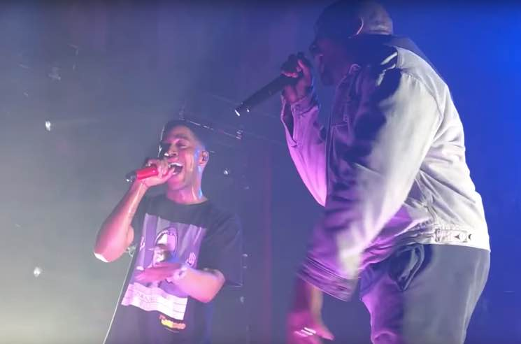 Watch Kanye West Return to the Stage During Kid Cudi's Chicago Show