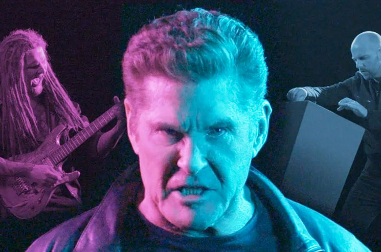 David Hasselhoff's New Metal Song Totally Rips