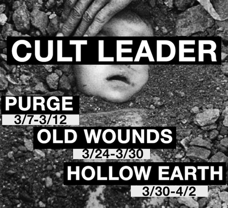 Cult Leader Map Out North American Tour