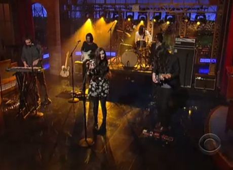 "Cults ""Keep Your Head Up"" (live on 'Letterman')"