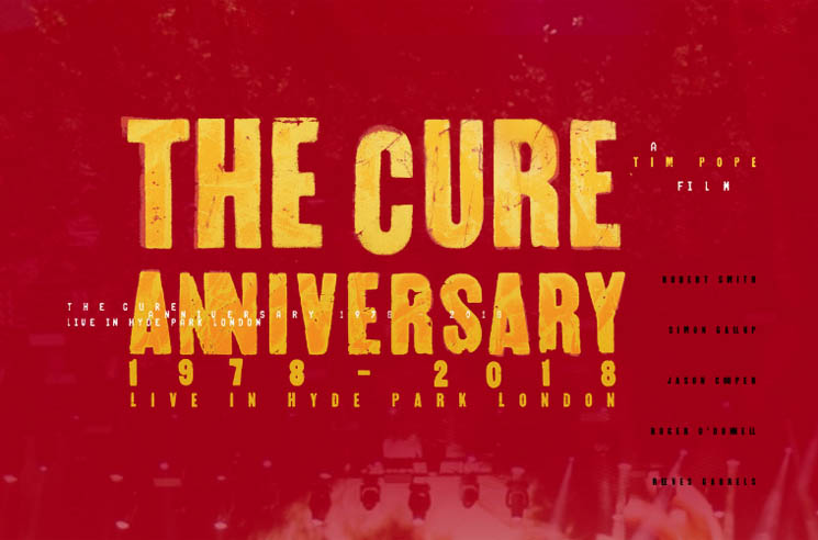 The Cure Unveil 40th Anniversary Film Screenings Around the World