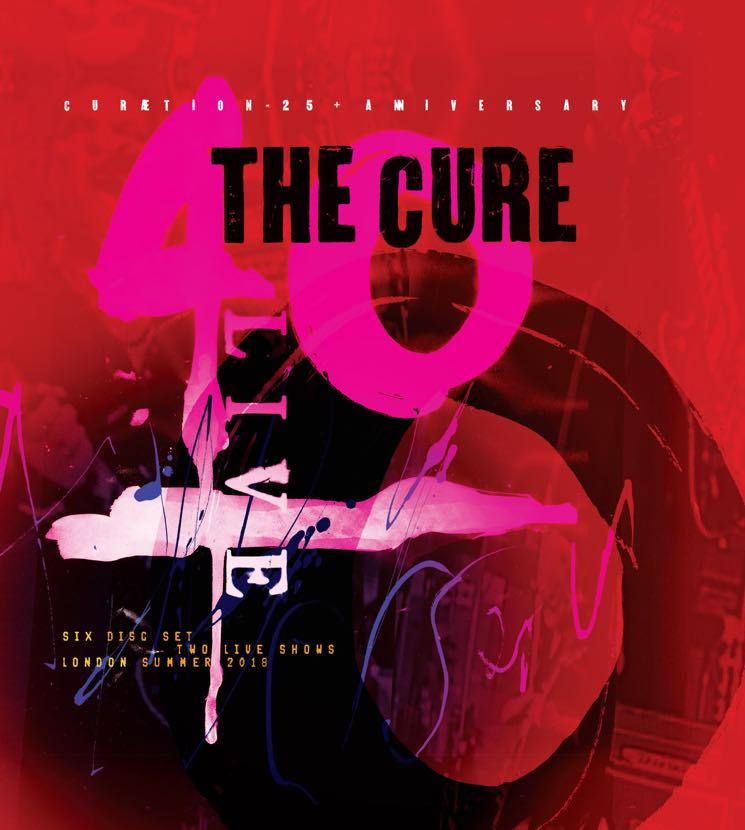 ​The Cure Detail '40 Live: Curætion 25 + Anniversary' Box Set