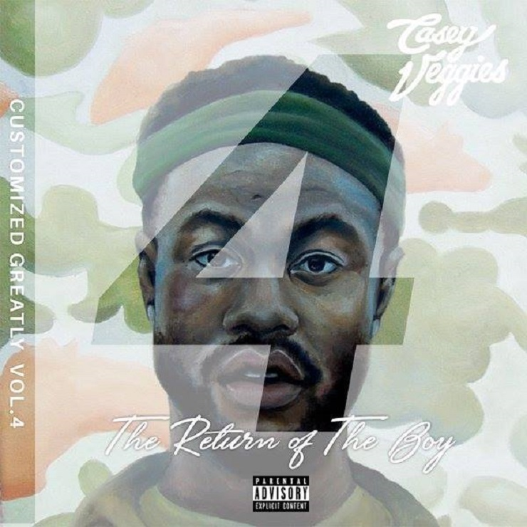 Casey Veggies 'Customized Greatly 4' (mixtape)