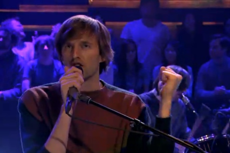 "Cut Copy ""We Are Explorers"" (live on 'Fallon')"