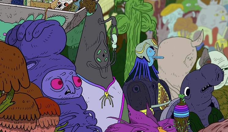Watch Chad VanGaalen's Animated Film 'TARBOZ'