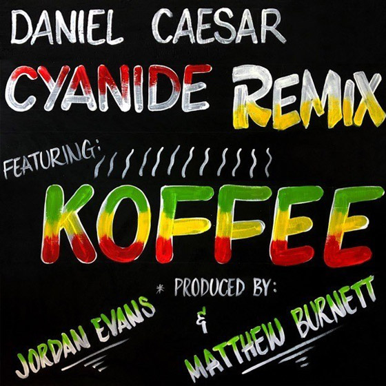 "Daniel Caesar Enlists Koffee for His ""CYANIDE"" Remix"