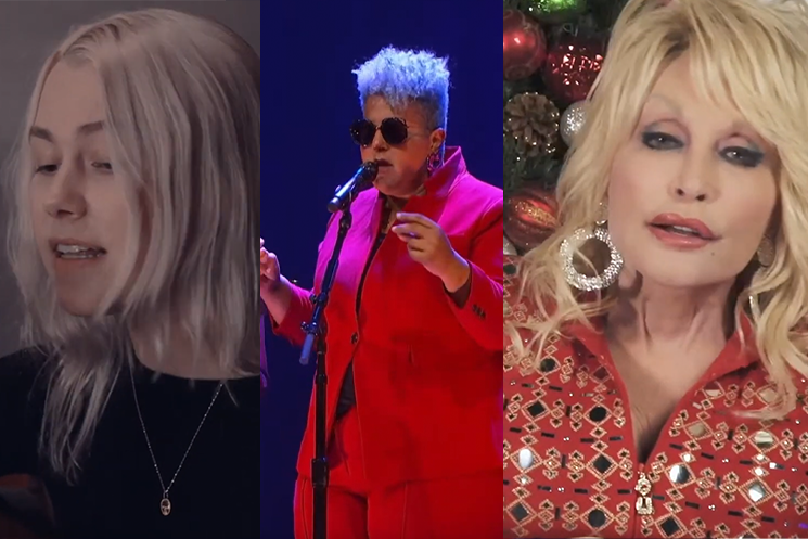 Watch Dolly Parton, Phoebe Bridgers, Brittany Howard Play Cyndi Lauper's 'Home for the Holidays'