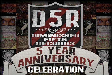 Diminished Fifth Records Celebrates Fifth Anniversary with Halifax Bash