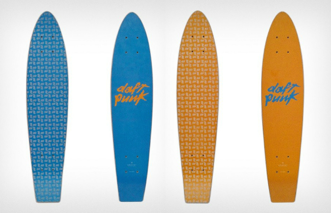 Daft Punk Release Limited Skateboards