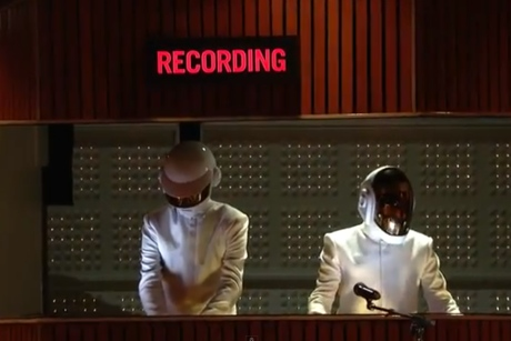 "Daft Punk ""Get Lucky"" (Grammy rehearsal video)"