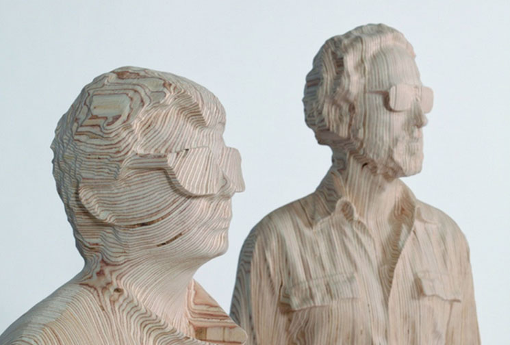 Daft Punk Unmasked in New Sculpture Exhibit