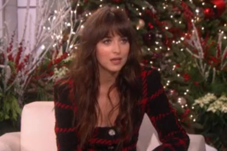 ​Hear Dakota Johnson Talk About Shia LaBeouf's Arrest on 'Ellen'