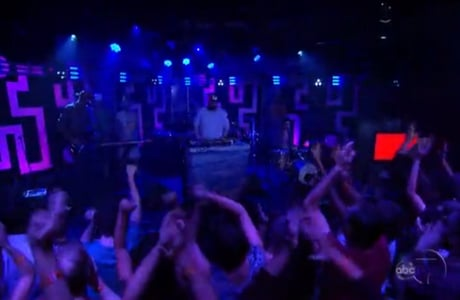 "Dan Deacon ""True Thrush"" (live on 'Kimmel')"