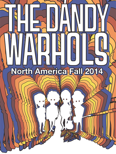 The Dandy Warhols Hit the Road for North American Tour